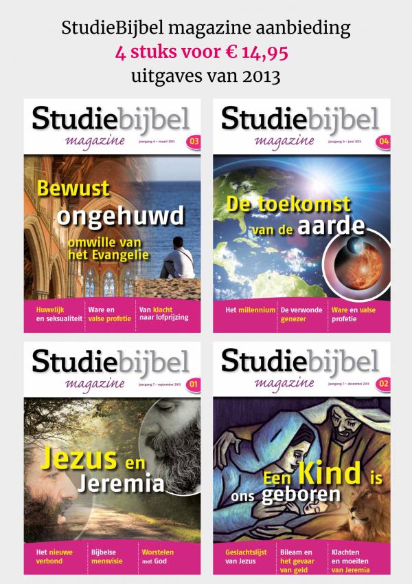 SB magazine2013 4 stuks voor € 14,95