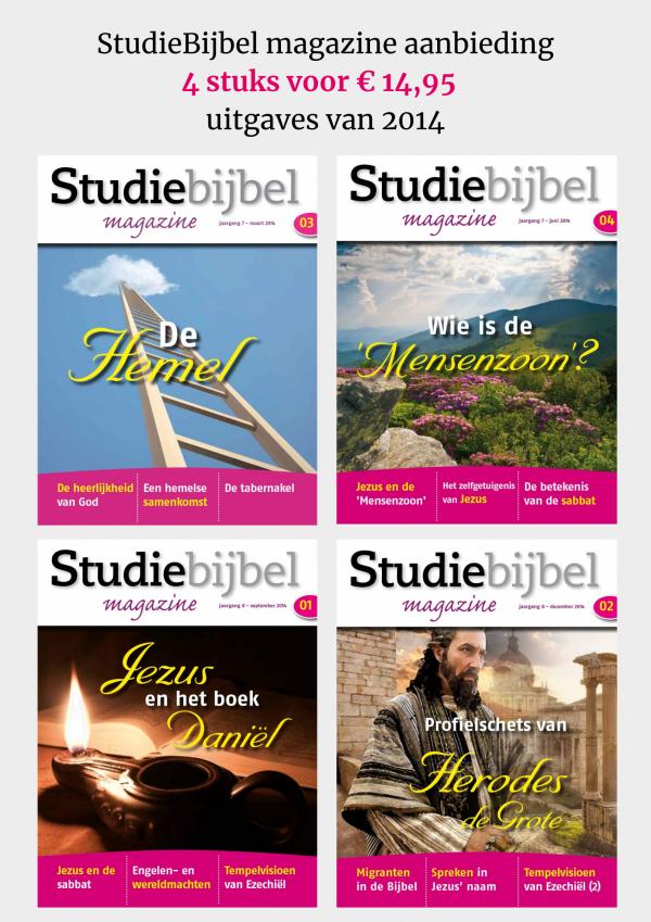 SB magazine2014 4 stuks voor € 14,95