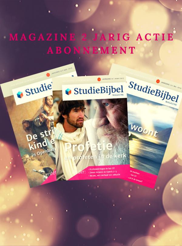 magazine actie